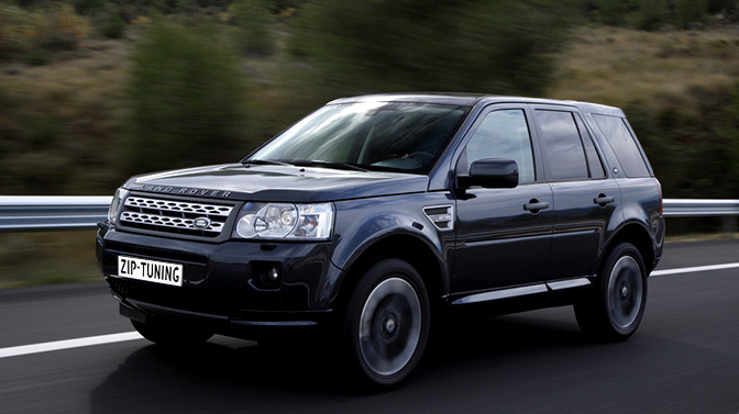 Chiptuning Land Rover Freelander II 2.2 TD4
