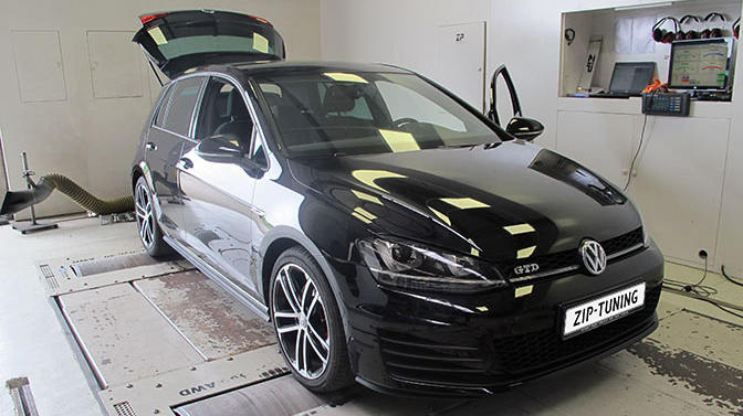 chiptuning volkswagen golf vii gtd ziptuning. Black Bedroom Furniture Sets. Home Design Ideas