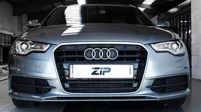 Audi A6 na tuning flink meer geluid