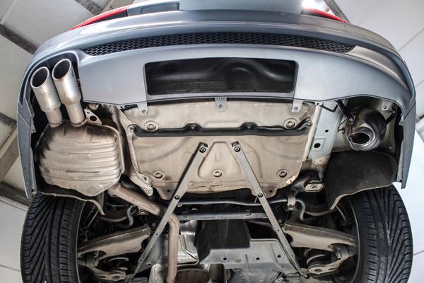 Audi A6 2.0 TDI soundgenerator tuning