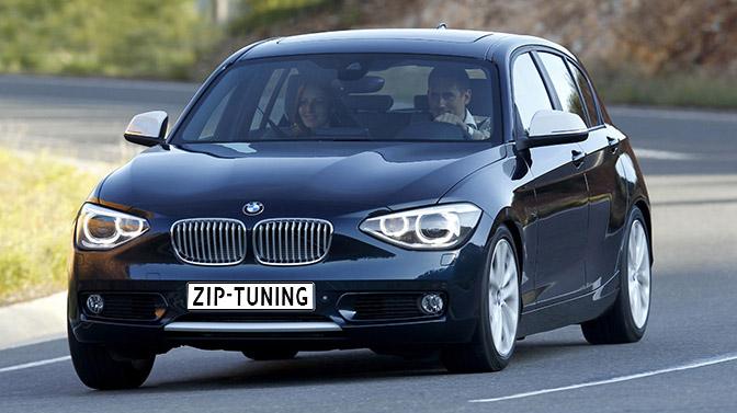 BMW 116i razendsnel met chiptuning van ZIP