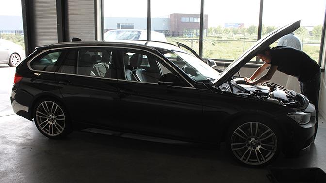 Chiptunen BMW 320d