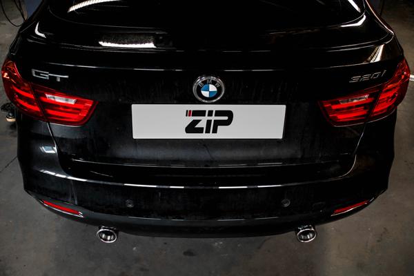 BMW 3GT 320i Diffuser Tuning
