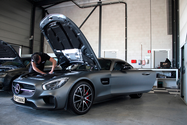 Mercedes-Benz AMG GT S Chiptuning