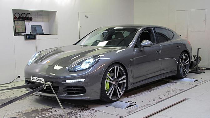Hybride Porsche nog pittiger na chiptuning