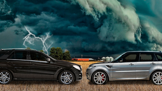 Dynowar Land Rover Sport 3.0 versus Mercedes Benz ML