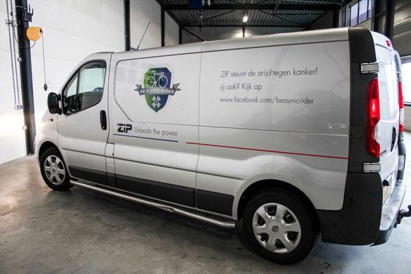 KWF Goed doel sponsoring ziptuning