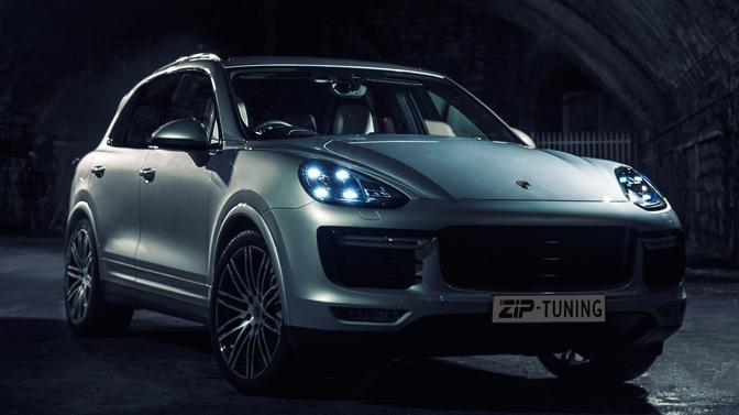 Porsche na tuning onhoudbaar snel