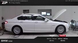 Chiptunen BMW 520d