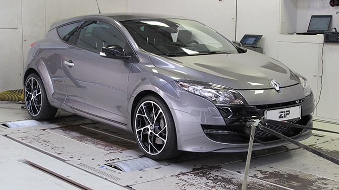 Tuning Megane RS 250 ondergaat stage 2 tuning