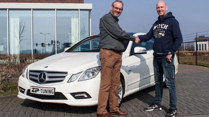 Tuning Mercedes Benz E 350 3.0 CDI stemt tot tevredenheid