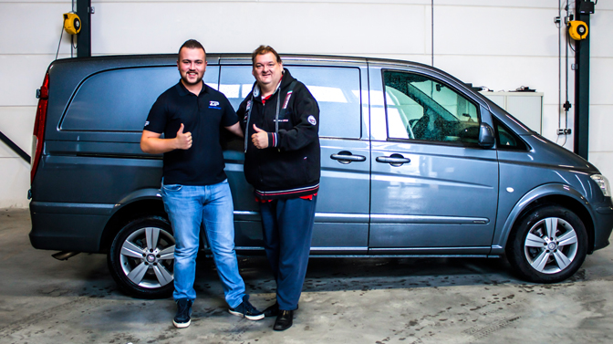 My ZIP Ride: na tuning crossen met Mercedes Benz Vito