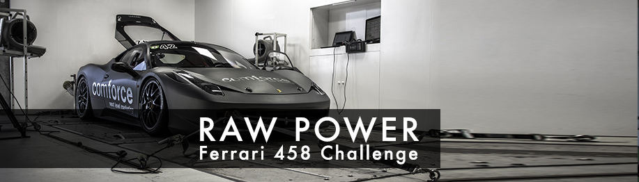 Chiptuning Ferrari 458 challenge