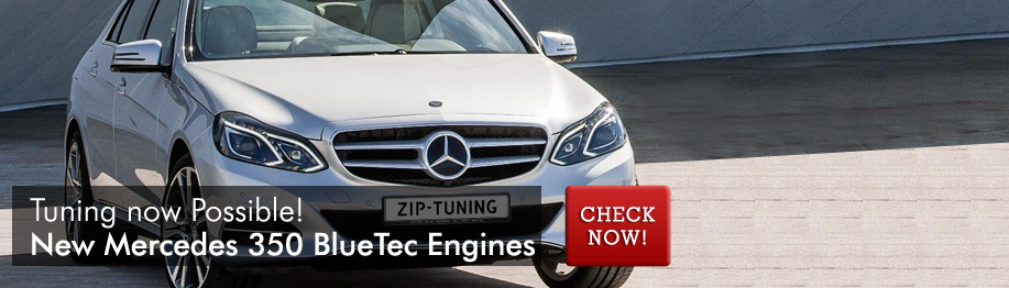 Chiptuning Mercedes 350 BlueTec Engines