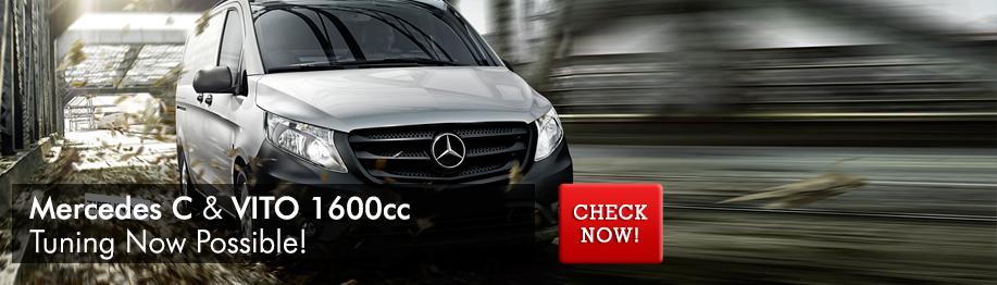 Chiptuning Mercedes-Benz Vito 2015 1600 CC