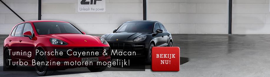 Porsche Macan & Cayenne Turbo Benzine motoren Chiptuning