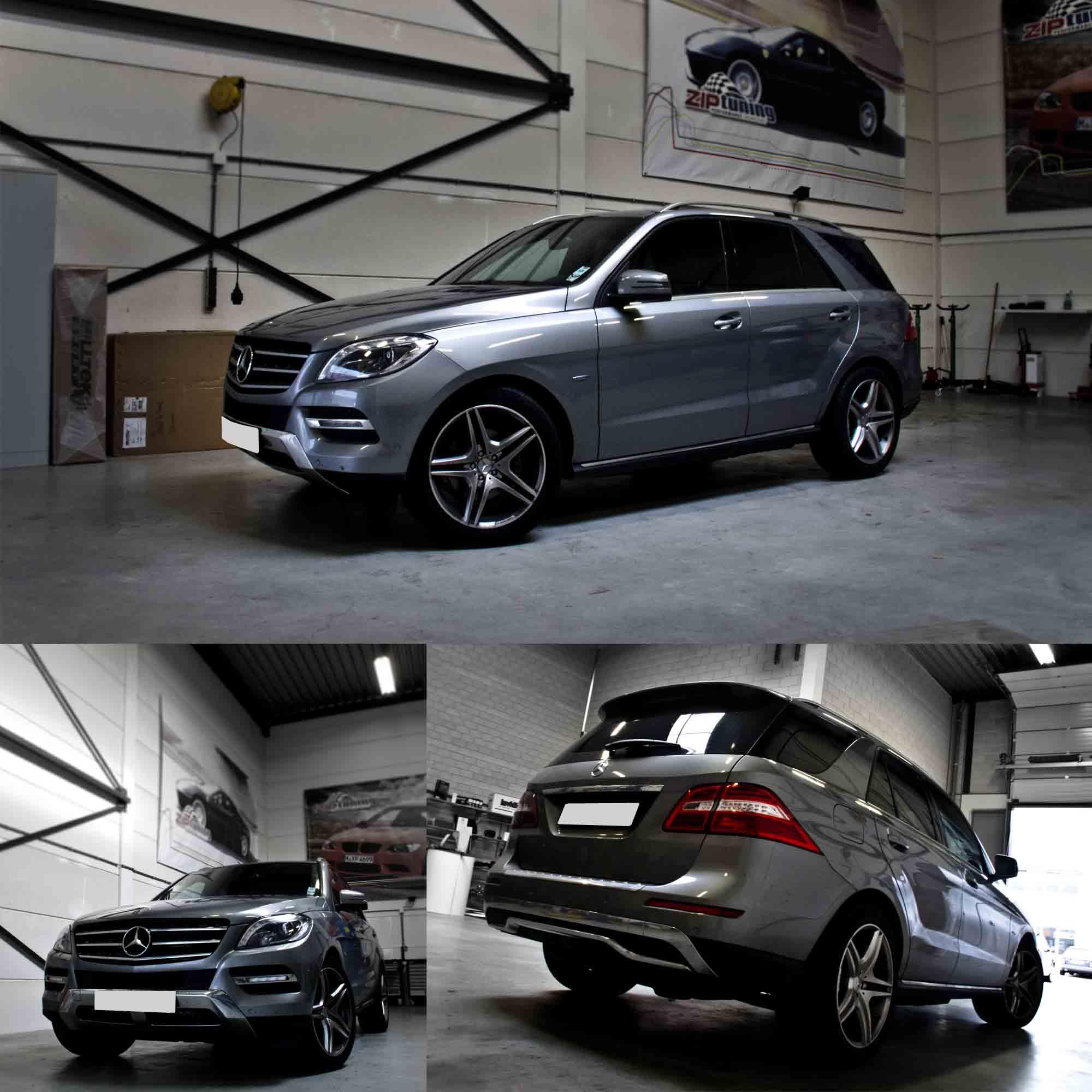 2011 Mercedes Benz E350 Bluetec: Reprogrammation Mercedes Benz M 3.0d 238 Cv W166 (2011→